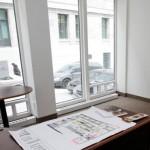 Bureau vue sur la rue St-Gabriel