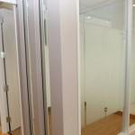 Les couloirs des bureaux St-Gabriel