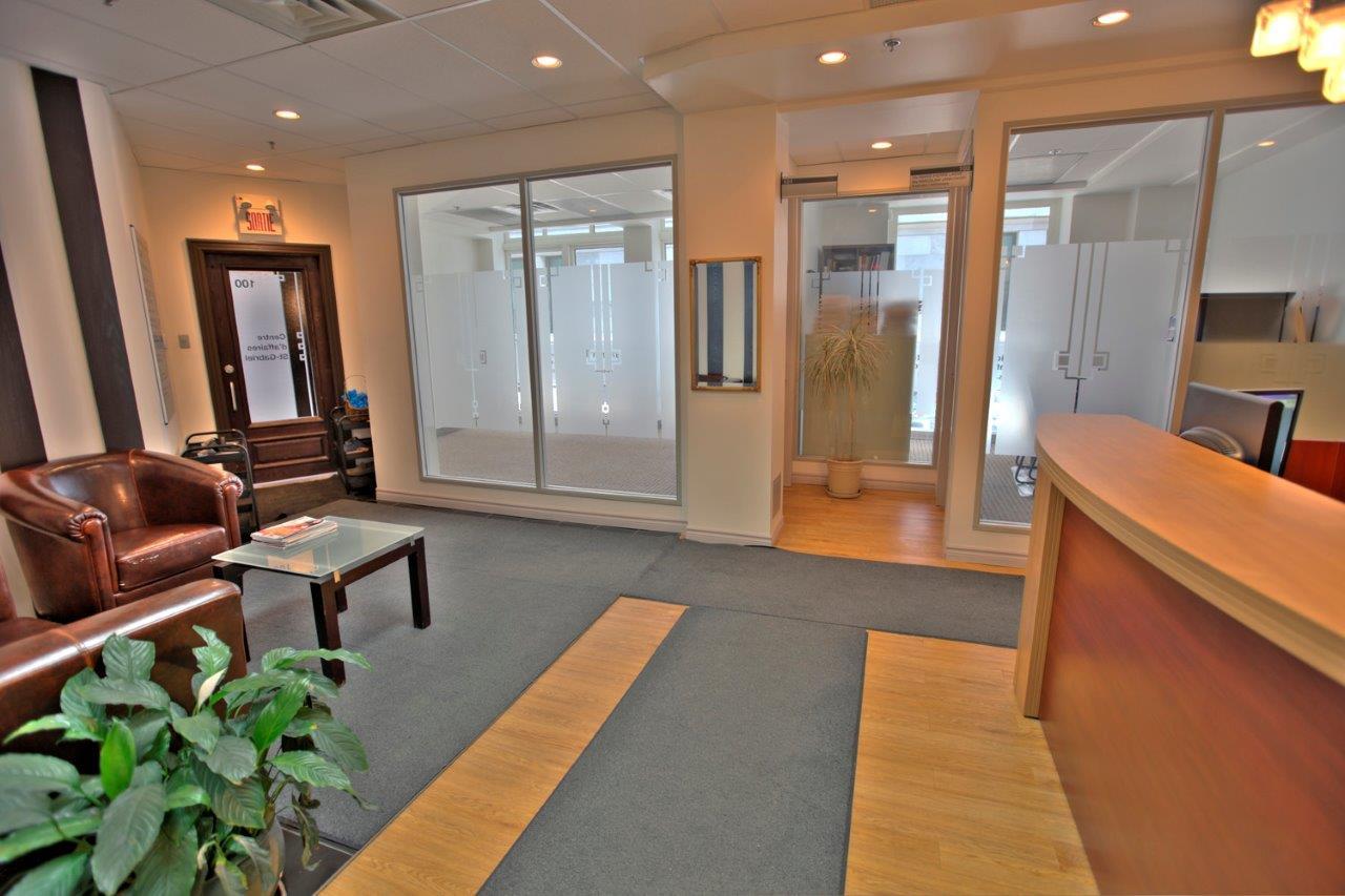 Centre d affaires saint gabriel vieux montreal bureau fermé à