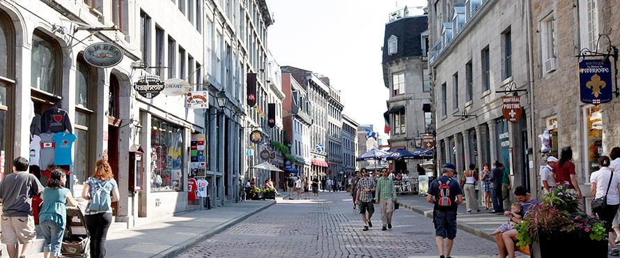 mtl day street Partir en Affaires: Ladresse idéale un Centre Daffaires dans le Vieux Montréal
