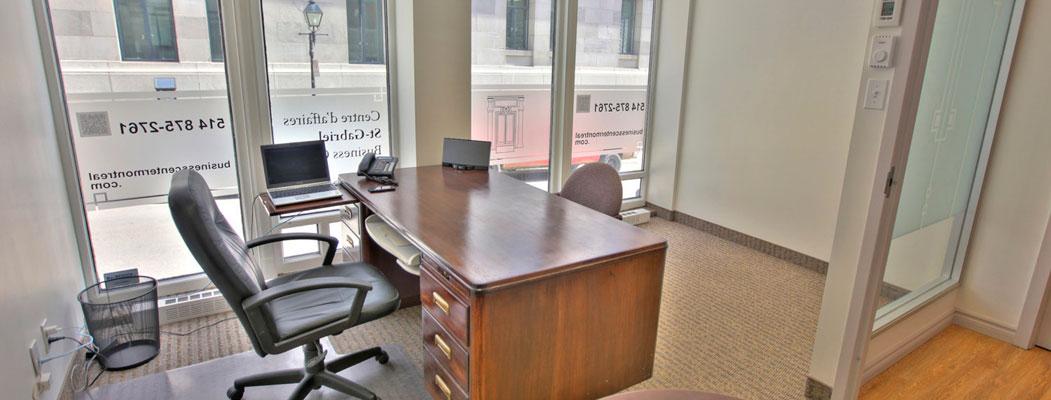 Business Center Montreal – bureau à louer